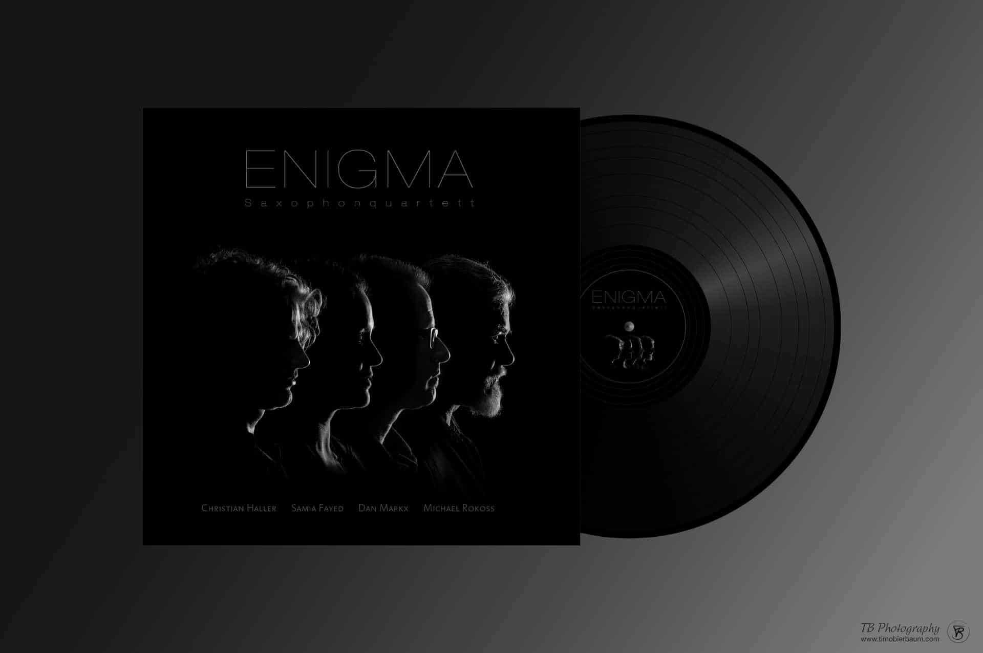 Enigma Cover & LP Design